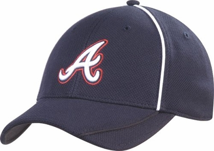 Atlanta Braves New Era 39Thirty Batting Practice Hat