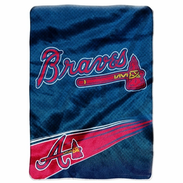 Atlanta Braves Oversize Plush Blanket