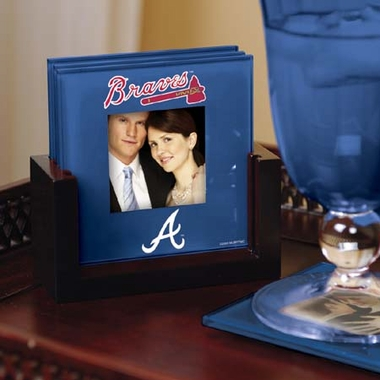 Atlanta Braves Photo Coaster Set