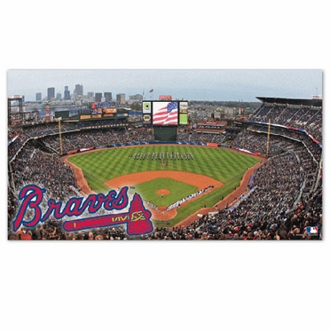 Atlanta Braves Runner Mat