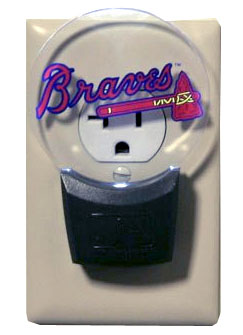Atlanta Braves Set of 2 Nightlights