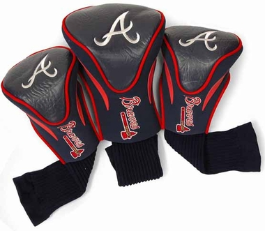 Atlanta Braves Set of Three Contour Headcovers