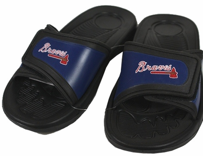 Atlanta Braves Shower Slide Flip Flop Sandals