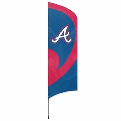 Atlanta Braves Tall Team Flag