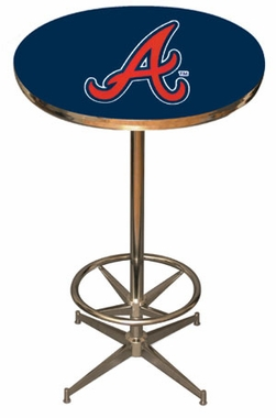 Atlanta Braves Team Pub Table