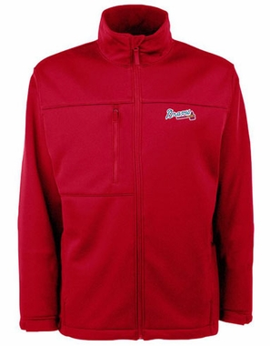 Atlanta Braves Mens Traverse Jacket (Team Color: Red)