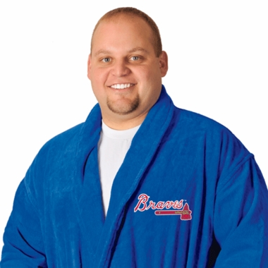 Atlanta Braves UNISEX Bath Robe (Team Color)