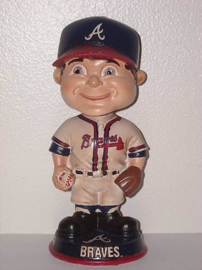 Atlanta Braves Vintage Retro Bobble Head