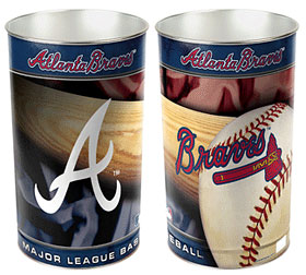 Atlanta Braves Waste Paper Basket