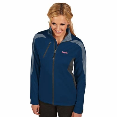 Atlanta Braves Womens Discover Jacket (Team Color: Navy)