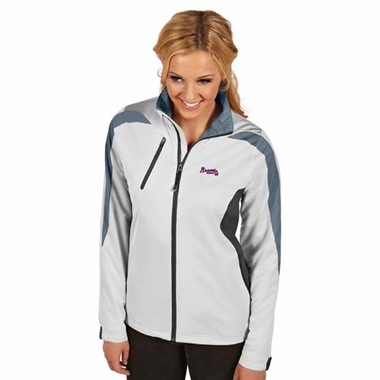 Atlanta Braves Womens Discover Jacket (Color: White)