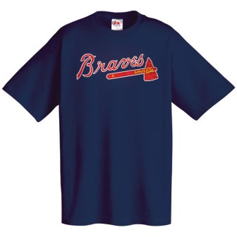 Atlanta Braves Wordmark T-Shirt