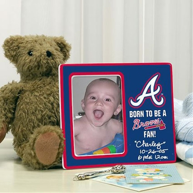 Atlanta Braves Youth Picture Frame