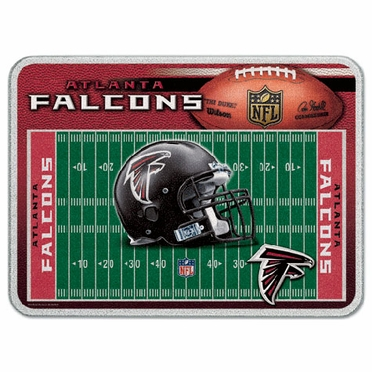 Atlanta Falcons 11 x 15 Glass Cutting Board