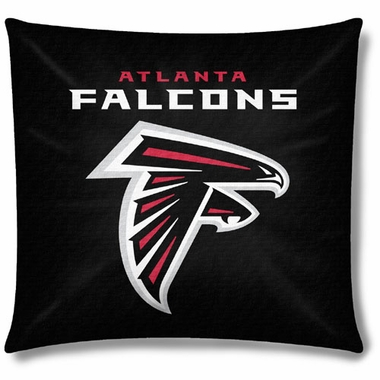 Atlanta Falcons 18 Inch Toss Pillow