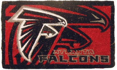 Atlanta Falcons 18x30 Bleached Welcome Mat