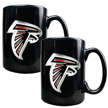 Atlanta Falcons 2 Piece Coffee Mug Set