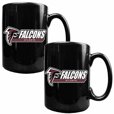 Atlanta Falcons 2 Piece Coffee Mug Set (Wordmark)