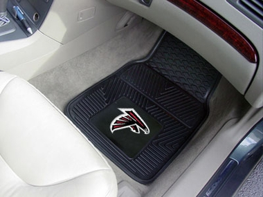 Atlanta Falcons 2 Piece Heavy Duty Vinyl Car Mats