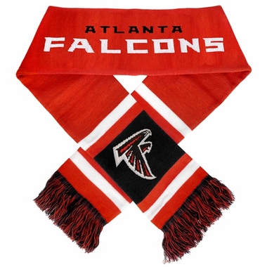 Atlanta Falcons 2012 Team Stripe Knit Scarf