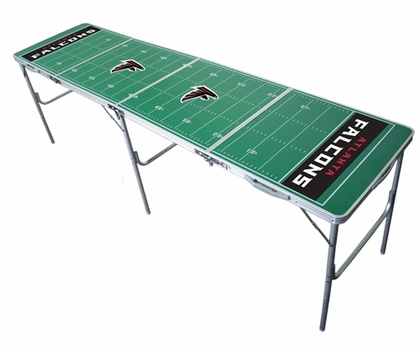 Atlanta Falcons 2x8 Tailgate Table
