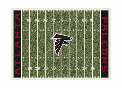 "Atlanta Falcons 3'10"" x 5'4"" Premium Field Rug"