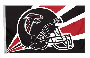 Atlanta Falcons 3'x5' Helmet Design Flag