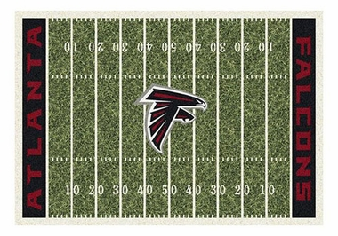 "Atlanta Falcons 5'4"" x 7'8"" Premium Field Rug"
