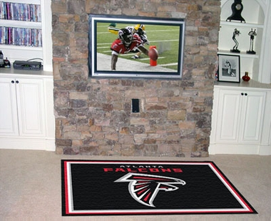 Atlanta Falcons 5 Foot x 8 Foot Rug