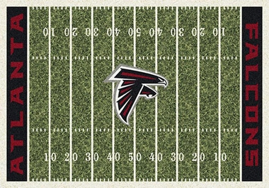 "Atlanta Falcons 7'8"" x 10'9"" Premium Field Rug"