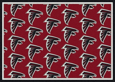 "Atlanta Falcons 7'8 x 10'9"" Premium Pattern Rug"