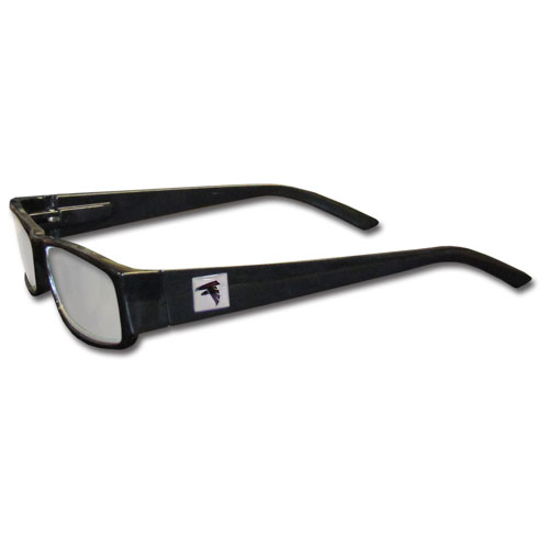 Eyeglass Frames Atlanta : Atlanta Falcons Black Reading Glasses +2.00 (F)