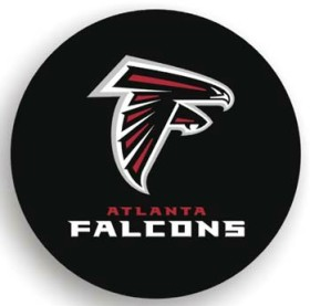 Atlanta Falcons Black Tire Cover (Small Size)