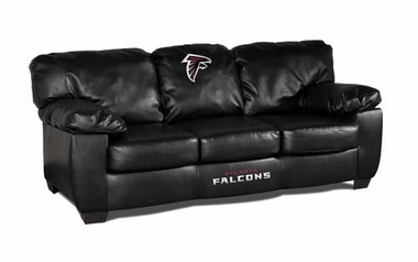 Atlanta Falcons Leather Classic Sofa