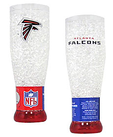 Atlanta Falcons Crystal Pilsner Glass