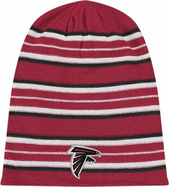 Atlanta Falcons Cuffless Reversible Long Knit Hat