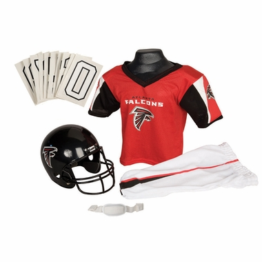 Atlanta Falcons Deluxe Youth Uniform Set - Small
