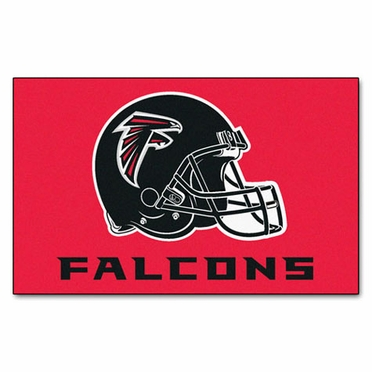 Atlanta Falcons Economy 5 Foot x 8 Foot Mat