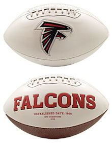 Atlanta Falcons Embroidered Signature Series Football
