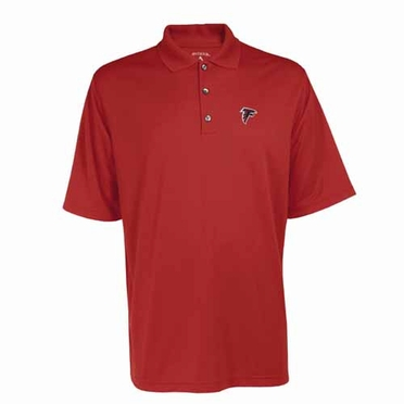 Atlanta Falcons Mens Exceed Polo (Team Color: Red)