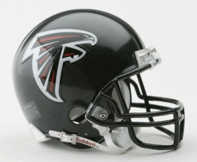 Atlanta Falcons Football Helmet - Mini Replica