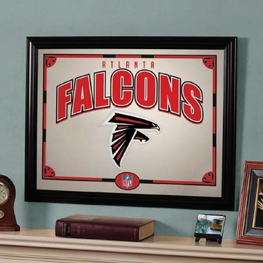 Atlanta Falcons Framed Mirror
