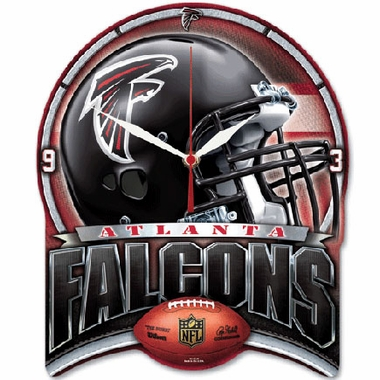 Atlanta Falcons High Definition Wall Clock