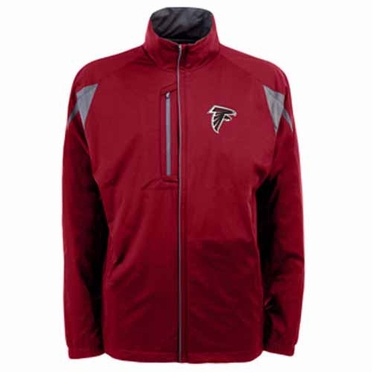Atlanta Falcons Mens Highland Water Resistant Jacket (Team Color: Red)