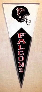 Atlanta Falcons Large Wool Pennant