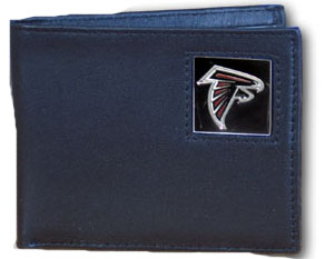 Atlanta Falcons Leather Bifold Wallet (F)