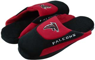 Atlanta Falcons Low Pro Scuff Slippers - Large