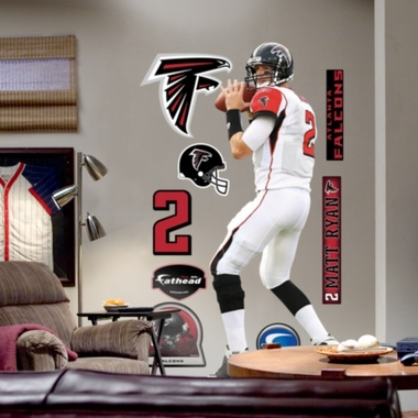 Atlanta Falcons Matt Ryan Fathead Wall Graphic