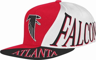 Atlanta Falcons Mitchell & Ness The Skew Retro Vintage Snap Back Hat