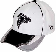 Atlanta Falcons New Era Gray Grayed Out Neo 39THIRTY Flex Hat
